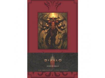 Diablo III Burning Hells Zápisník