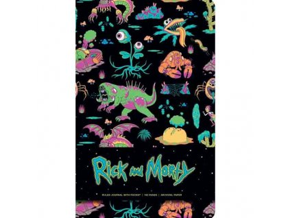 Rick and Morty Zápisník