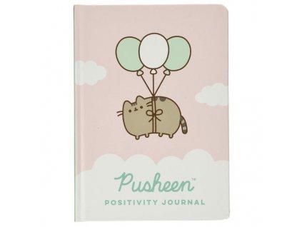Pusheen Positivity Zápisník