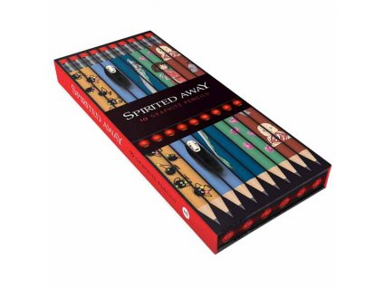 Spirited Away Pencils (Ceruzky sada 10 ks)