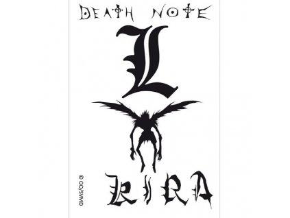 Death Note Tattoos Set (Tetovačky) 15 x 10 cm