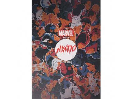 Marvel Art of Mondo Poster Book