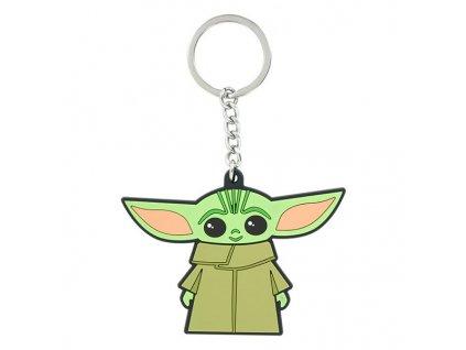 Star Wars The Mandalorian The Child (Baby Yoda) Kľúčenka