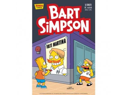 Simpsonovi: Bart Simpson 01/2021