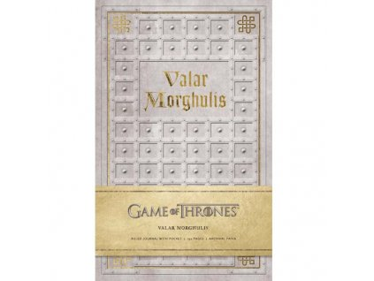 Game of Thrones Valar Morghulis Zápisník