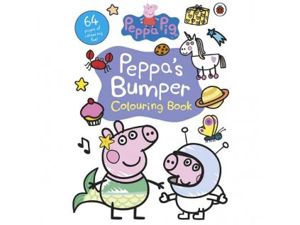 Peppa Pig Bumper Colouring Book