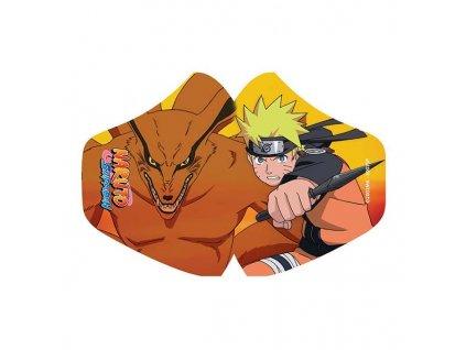 Rúško Naruto Face Mask Naruto and Kurama
