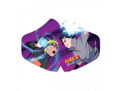 Rúško Naruto Face Mask Naruto Vs Sasuke