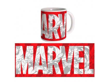 Marvel Comics Logo Šálka