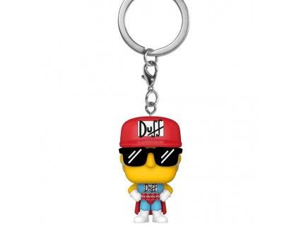 Pocket POP! Simpsons Duffman Kľúčenka
