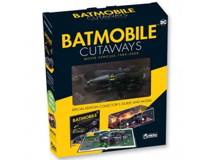 Batmobile Cutaways: The Movie Vehicles 1989-2012 Plus Collectible