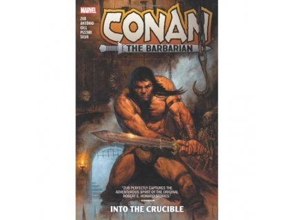 Conan The Barbarian by Jim Zub 1: Into The Crucible