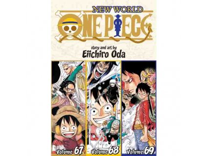 One Piece 3In1 Edition 23 (Includes 67, 68, 69)