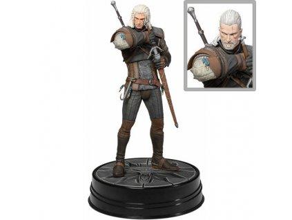 Witcher 3 Wild Hunt PVC Statue Heart of Stone Geralt Deluxe 24 cm
