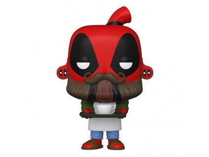 Funko POP! Marvel Deadpool 30th Anniversary: Coffee Barista Deadpool