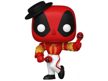 Funko POP! Marvel Deadpool 30th Anniversary: Flamenco Deadpool