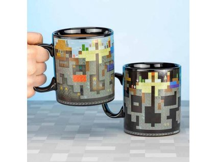 Minecraft Heat Change Mug Šálka