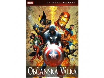 Občanská válka - Legendy Marvel