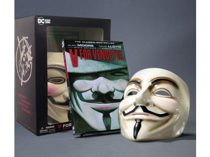 V for Vendetta Deluxe Collector Set Book and Mask (New Edition)