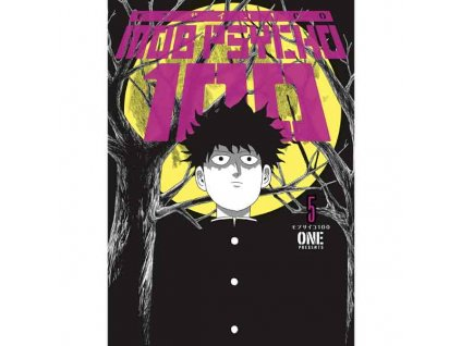 Mob Psycho 100 5 Cover