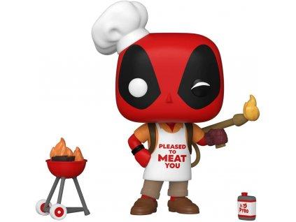 Funko POP! Marvel Deadpool 30th Anniversary: Backyard Griller Deadpool
