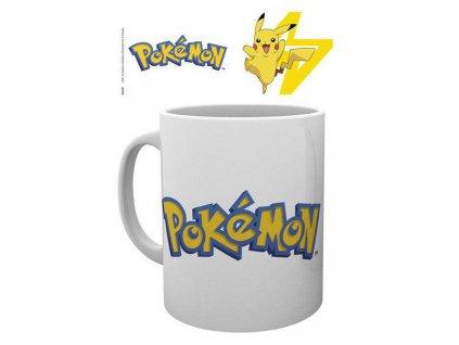 Šálka Pokémon Logo and Pikachu