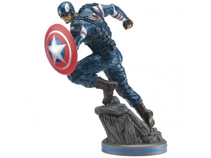 Avengers 2020 Video Game PVC Statue Captain America 22 cm