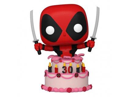 funko pop marvel deadpool 30th anniversary deadpool in cake