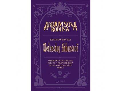 addamsova rodina knihovnicka wednesday addamsove cover