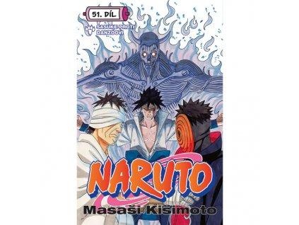 naruto 51 sasuke proti danzoovi 9788076790278 cover