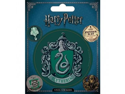 harry potter slytherin nalepky 5 pack 5050293473918