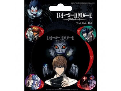 death note nalepky 5 pack 5050293474168