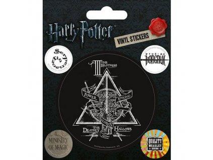 harry potter symbols nalepky 5 pack 5050293473246