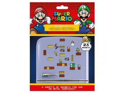 super mario mushroom kingdom sada magnetiek 5050293650814