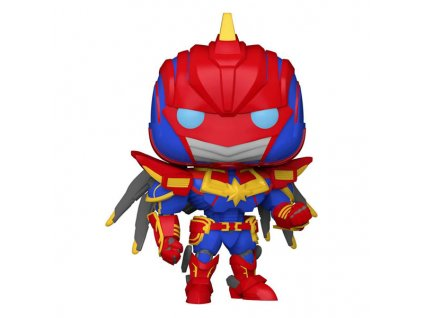 funko pop marvel avengers mechstrike captain marvel 889698552356