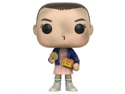 funko pop stranger things eleven with eggos 889698133180