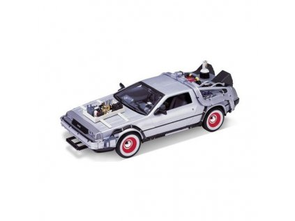 back to the future iii diecast model 1 24 1981 delorean lk coupe 4891761124441