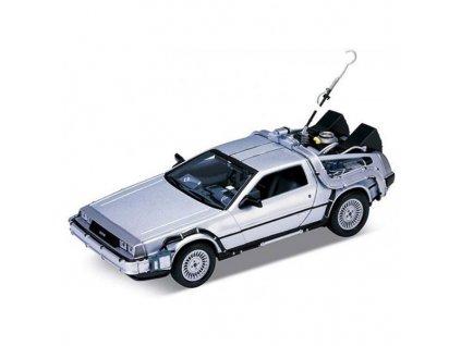 back to the future diecast model 1 24 1981 delorean lk coupe 4891761124434