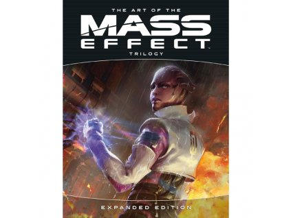 art of the mass effect trilogy expanded edition 9781506721637