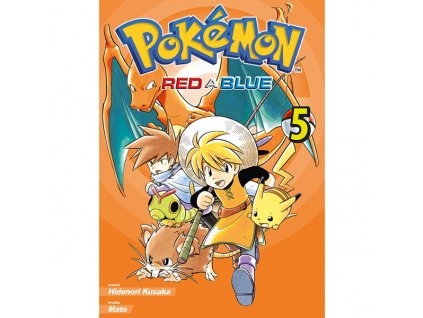 pokemon red a blue 5 9788076790377