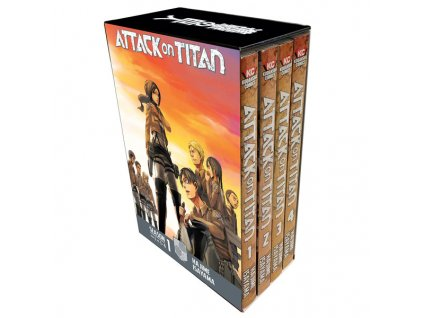 attack on titan season 1 part 1 manga box set 9781632366993