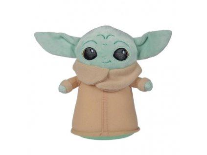 star wars the mandalorian plush figure the child 18 cm baby yoda