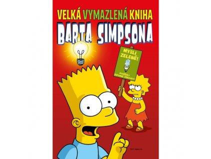 velka vymazlena kniha barta simpsona 9788076790469