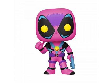 funko pop marvel black light deadpool special edition 889698550918