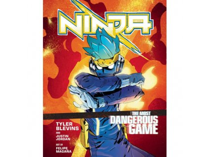 ninja the most dangerous game a graphic novel 9781529104813