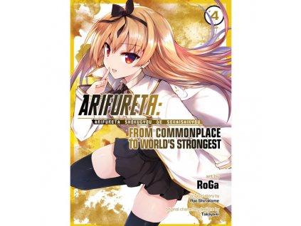 arifureta from commonplace to world s strongest 4 manga 9781642750072