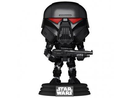 funko pop star wars the mandalorian dark trooper 889698582896