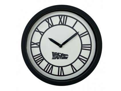 back to the future wall clock hill valley clock tower 5060662463716