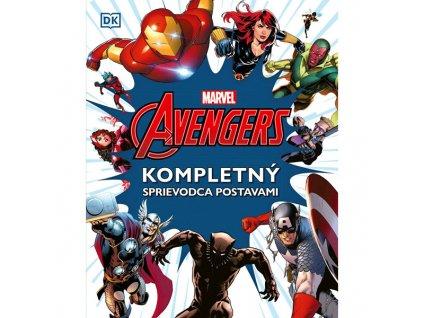 marvel avengers kompletny sprievodca postavami 9788056622940