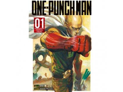 one punch man 01 jednou ranou 9788076790735